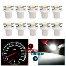 10Pcs B8.5D Car Gauge T5 smd LED Dashboard Instrument Cluster Gauge Light White