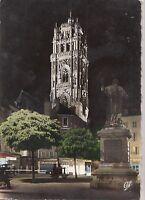 BF20133 rodez le clocher de la cathedrale ilumine france  front/back image