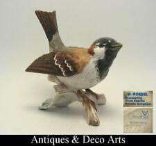 Goebel Porzellan Vogel Figur Haussperling