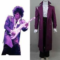 Prince Rogers Nelson Purple Rain Halloween Cosplay Costume