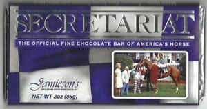 "SECRETARIAT - 30th Anniversary Jamieson's Chocolate ""Kentucky Derby"" Candy Bar"