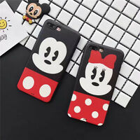 Cute Cartoon Disney Mickey Minnie mouse soft Case Cover for iPhone 7 6 6S 6Splus