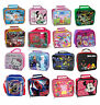 Kids TV Characters  / Disney School Insulated Lunch Bag / Box Kit  New Gift