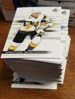 2019-20 SP AUTHENTIC FULL BASE SET 1- 100 + STORAGE BOX FREE US SHIPPING NHL