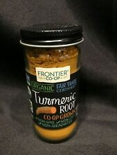 Frontier Natural Products  Organic Turmeric Root  1 41 oz  40 g Best By: 01-2021
