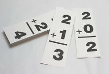 Addition Facts Deck - 100 cards - Math Manipulative - Homeschool Preschool