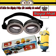 Ketnet Cute Minions Movie Character Figures Circular Goggles Glasses Cosplay Toy