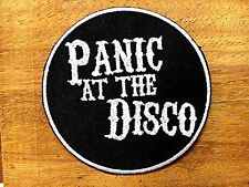 New PANIC AT THE DISCO Rock Goth Punk Music Band Embroidered Sew Iron On Patch 2