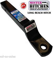 "LONG REACH BALL MOUNT HITCH 322MM 2""DROP REESE STYLE SHANK TOW BAR 4WD TRAILER"