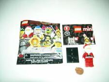 In Hand New Lego 8833 Series 8 Santa Minifigure