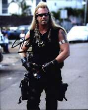 Dog The-Bounty-Hunter authentic signed celebrity 8x10 photo W/Cert Autograph 153