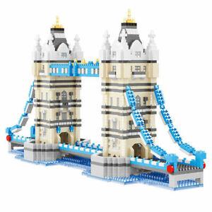 3600pcs Architecture London Bridge Blocks DIY Diamond Mini Building Bricks
