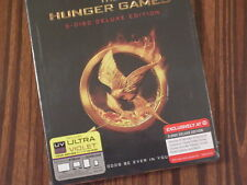 The Hunger Games  ( 3-disc Blu-ray Deluxe Edition; Target !! )