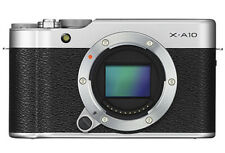 Fuji X-A10 Digital MIrrorless Camera Body in Silver & Black BNIB UK Stock