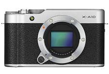 Fuji Fujifilm X-A10 Digital MIrrorless Camera Body in Silver (UK Stock) BNIB