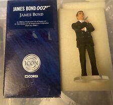 Corgi Icon James Bond Roger Moore figure excellent unused condition boxed