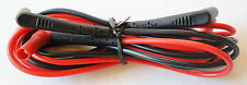 GENUINE FLUKE TL222 SILICONE INSULATED SUREGRIP TEST LEADS NEW