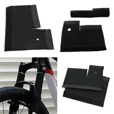 1Pair Cycling MTB Bike Bicycle Front Fork Protector Pad Wrap Cover Set Black FG