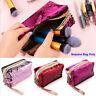 Mermaid Sequin Pen Pencil Case Cosmetic Makeup Coin Pouch Storage Purse Bag~