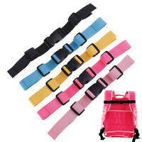 Adjustable Bag Backpack Webbing Sternum Chest Harness Buckle Clip Nylon Strap Cw