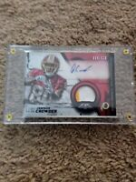 2015 Topps Fire Rookie Autographed Patches #FRAP-JC Jamison Crowder Auto Card