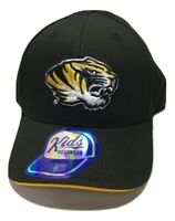 Missouri Tigers NCAA Youth Boys Structured Adjustable Cap Hat - Black - Toddler