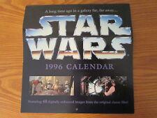 Vintage Star Wars 1996 Calendar w/ 48 digitally enhanced images