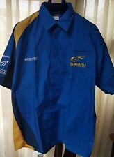 NEW WITH TAGS Pirelli Subaru World Rally Team Prodrive 90's/00's Racing Shirt