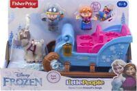 Fisher Price - Little People Frozen Kristoffs Sleigh - Brand New