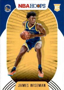 2020-21 Panini Hoops #205 JAMES WISEMAN RC Rookie Golden State Warriors
