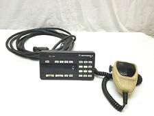 Motorola Systems 9000 Hcn1073a Spectra A9 Control Head Mic Amp Remote Mount