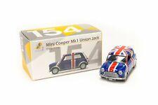 TINY Hong Kong City #154 Mini Cooper Union Jack (RHD) UK Diecast toy car model
