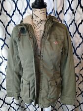 Women's Hollister By Abercrombie And Fitch Lined Coat Jacket medium