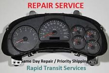 Isuzu Ascender 2003, 2004, 2005, 2006 Instrument Gauge Cluster Repair