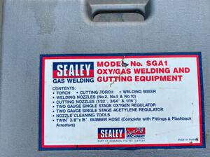 Sealey Oxy/Acy Gas Welding And Cutting Equipment Model SGA1