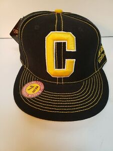 Judy Johnson Pittsburgh Crawfords NLBM Oh Trading Co Unisex Cap Black 7 3/8 New