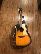 Gibson J-45 J45 Deluxe Acoustic Guitar Vintage 1974? Broken As Is Parts