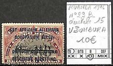 [841562] TB||O/Used || - Ruanda-Urundi 1916 - N° 29B, dentelé 15, USUMBURA