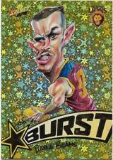 2018 Footy Stars Starburst Caricature YELLOW (SBY6) Dayne BEAMS Brisbane