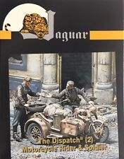 "Jaguar 1/35 ""The Dispatch Motorcycle Rider & Soldier (2 Figures) JAG-63115"