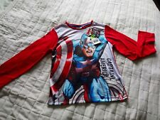 Captain America long sleeved t-shirt 6 years Bnwt