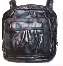 Women's Organizer Purse Shoulder Bag Multiple Pockets Cross Body Black