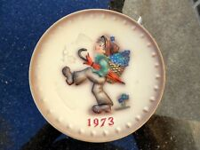 M J Hummel Plate GOEBEL Collectible 3rd Annual Plate 1973 Hum 266 W Germany 1972
