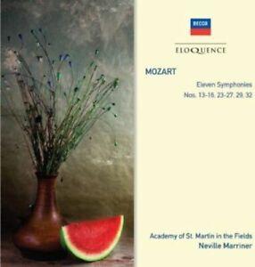 MOZART Eleven Symphonies Nos. 13-16, 23-37, 29 & 32 2CD BRAND NEW Eloquence