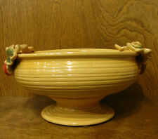 """Ceramic Center Piece #H2320Y YELLOW BOWL, NEW From Retail Store 6.25"""" x 12"""""""