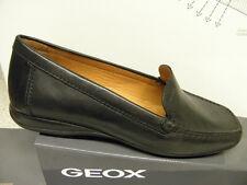 GEOX ®  Mokassin  schwarz  Leder  (G37)