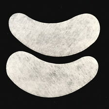 100 Pairs Thin Eye Gel Pad Comfy Curved Patches Eyelash Extension Lint Free