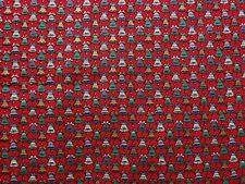Vintage Cotton Quilt Fabric Christmas Bells Joan Kessler for Concord  BTHY