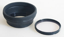 52MM LENS HOOD WITH SKY 1B FILTER