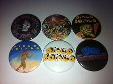 6 Oingo Boingo  badges 25mm Only A Lad Weird Science Danny Elfman DEVO New Wave